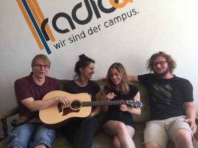 Besuch bei Radio Q